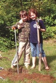 Kids with Shovels